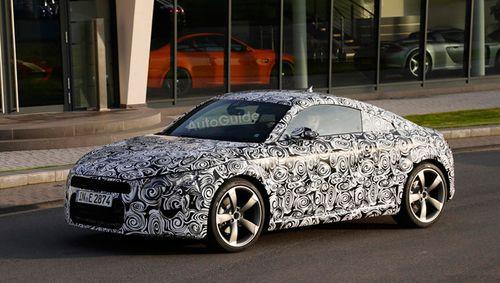 Новое поколение Audi TT будет представлено на автосалоне в Женеве