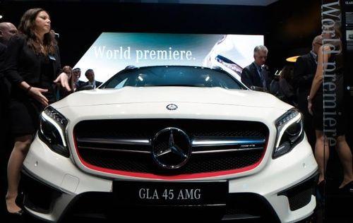Mercedes-Benz официально представил модель GLA 45 AMG