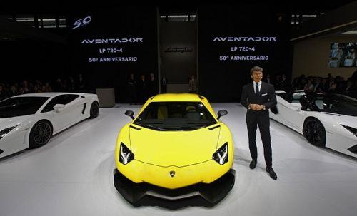 Lamborghini продала 2 тысячи 121 суперкар за 2013 год