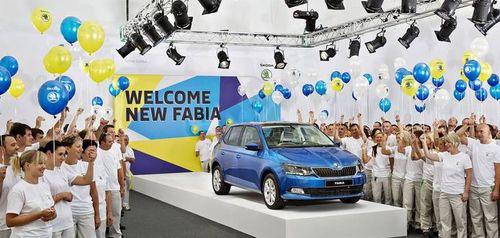 Skoda приступила к сборке нового поколения Fabia