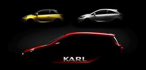 Opel назвал свою самую компактную модель именем Karl