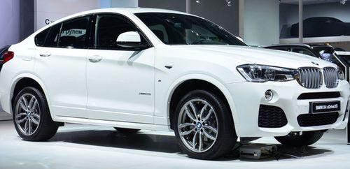 BMW представила на автосалоне в Москве кроссовер X4