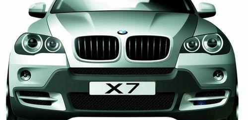 Опубликовано компьютерное изображение кроссовера BMW X7