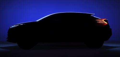 Toyota представит на автосалоне в Париже концепт-кар C-HR