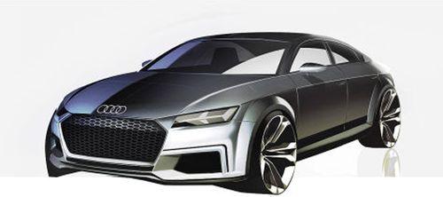 В Сети опубликованы эскизы концепта Audi TT Sportback