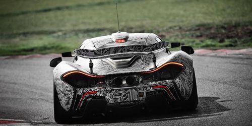 McLaren представит европейскую версию P1 GTR во Франции
