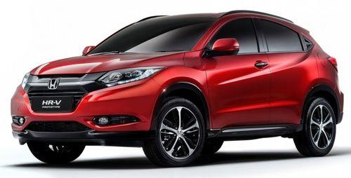 Honda представила европейскую версию кроссовера HR-V