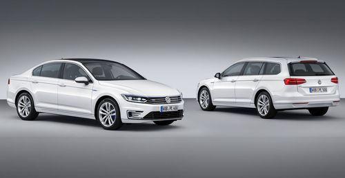 Volkswagen представил гибридную версию модели Passat