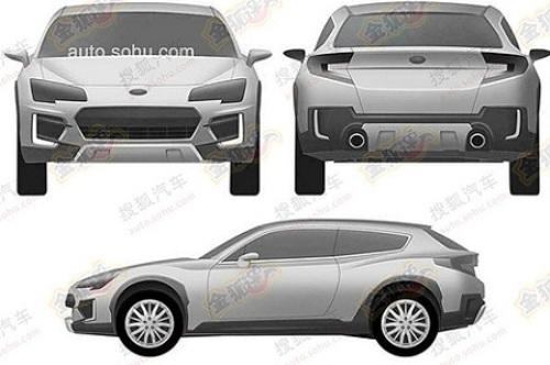 Subaru запатентовала дизайн своего нового кроссовера