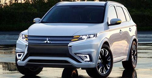 Mitsubishi представит на автосалоне в Париже Outlander PHEV Concept-S