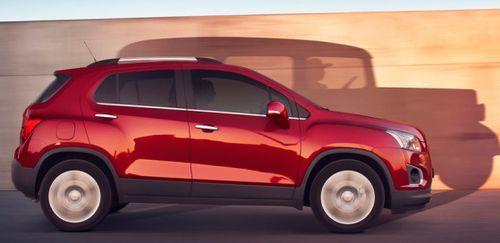 Chevrolet привезет в Россию кроссовер Tracker