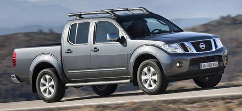 Пикап Nissan Navara получил обновление
