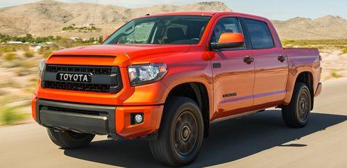 Новая Toyota Tundra получит исключительно моторы V8