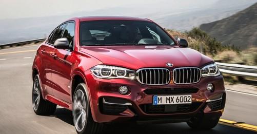 BMW объявила рублевые цены на кроссовер X6