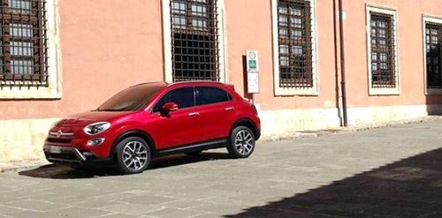 В Сети опубликовано первое фото кроссовера Fiat 500X