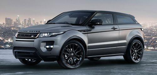 Range Rover начнет выпуск кроссовера Evoque в Китае