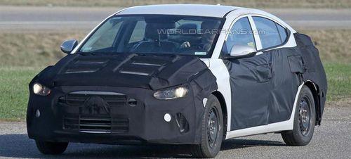 Новое поколение Hyundai Elantra представят в Лос-Анджелесе
