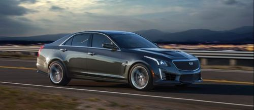 В США стартовал прием заказов на «заряженный» Cadillac CTS-V