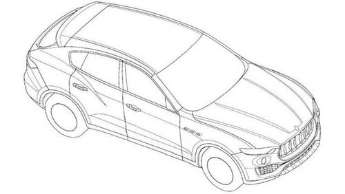 Появились первые изображения кроссовера Maserati Levante