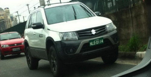 Suzuki тестирует новую версию Grand Vitara