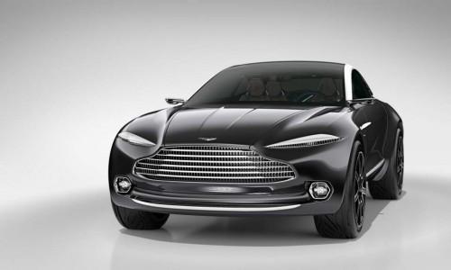 Концептуальный кроссовер Aston Martin DBX пойдет в серию
