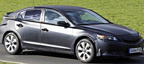 Новое поколение Honda Civic замечено на тестах