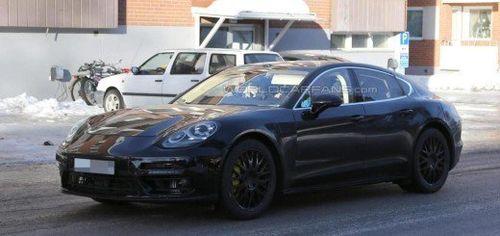 Опубликованы шпионские снимки Porsche Panamera 2016-го года