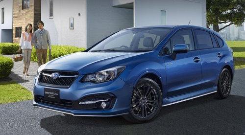 Subaru представила гибридную Impreza Sport Hybrid