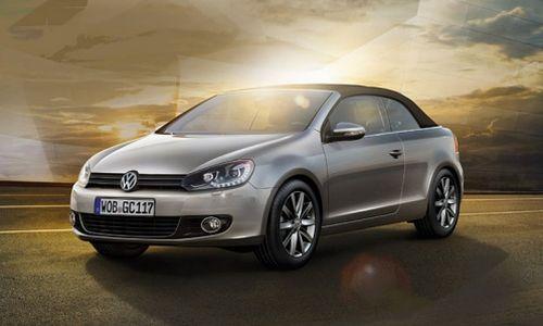 Компания Volkswagen обновила модель Golf Cabriolet