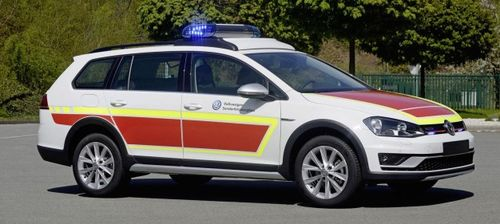 Volkswagen представил спецверсии Т6 и Amarok DLRG
