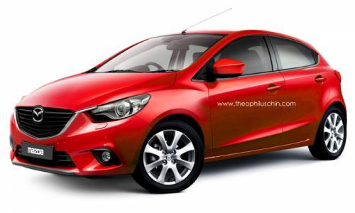 Mazda2 не будет продаваться на американском авторынке