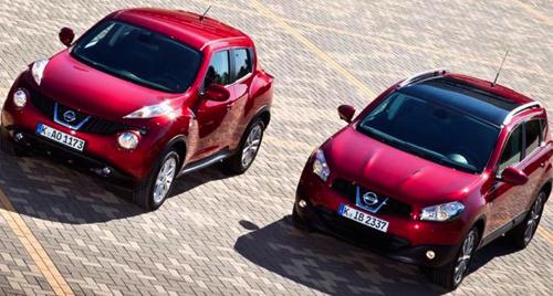 Nissan снижает цены на модели Qashqai и Juke