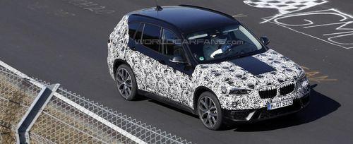 Новое поколение BMW X1 заметили на трассе Нюрбургринг