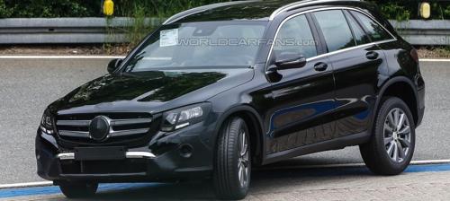 Прототип нового Mercedes-Benz замечен во время тестов