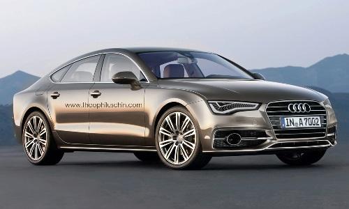 Audi представит второе поколение A7 Sportback в 2017 году