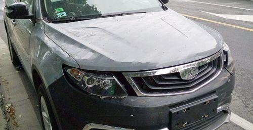 В Сети появились фото нового автомобиля Geely Emgrand NL-3