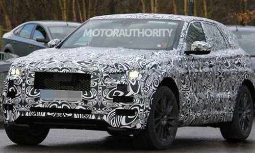 Новый Jaguar F-Pace представят во Франкфурте