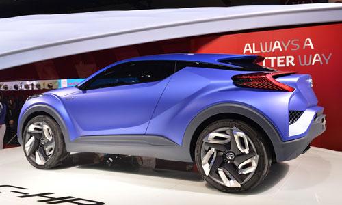 Весной 2016 года компания Toyota покажет конкурента Hyundai ix25