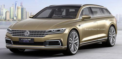 Volkswagen C Coupe GTE превратили в универсал