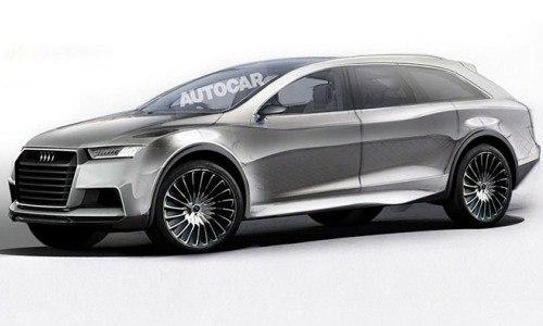 Флагманский кроссовер Audi Q8 выйдет на рынок в 2019 году