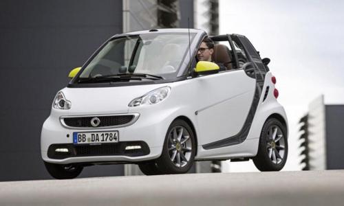 Кабриолет Smart Fortwo представят в сентябре во Франкфурте