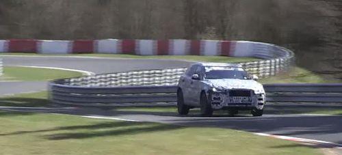 Новый Jaguar F-Pace «засветился» на трассе Нюрбургринг