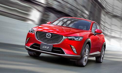 Mazda раскрыла подробности о новом кроссовере CX-3