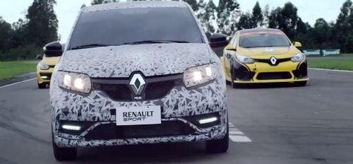 Renault выпустила тизер заряженной версии Sandero RS