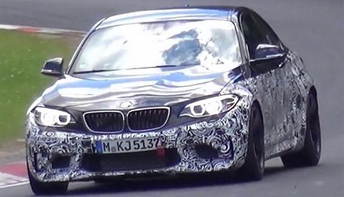 Новое купе BMW M2 засветилось на Нюрбургринге