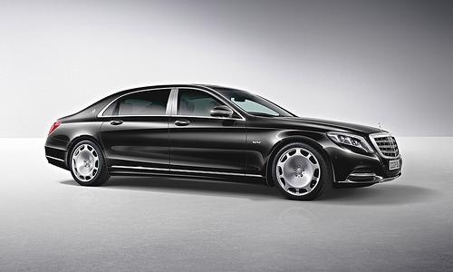 Продажи Mercedes-Maybach в Китае выросли в 10 раз