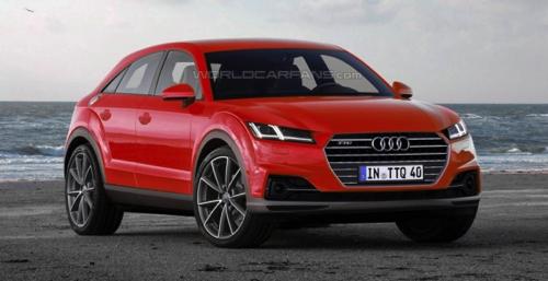 В Сети появился рендер Audi TTQ 2017 модельного года