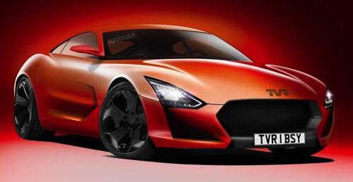 Возрожденная марка TVR разработала два новых спорткара