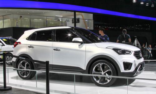 Hyundai анонсировала новый компактный кроссовер Creta