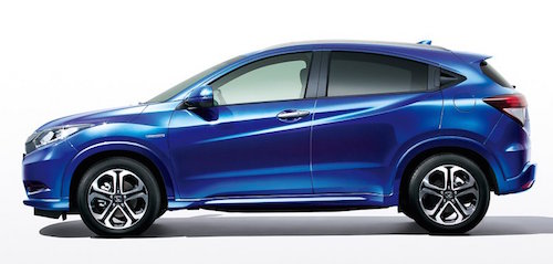 Honda-Vezel-Style-Edition-Morpho-Blue-Pearl-Japan